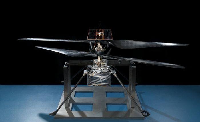 Первый марсианский вертолет совершил испытательный полет Марс, NASA, Mars Helicopter, Вертолёт, Испытания, Техника, Космос, Длиннопост