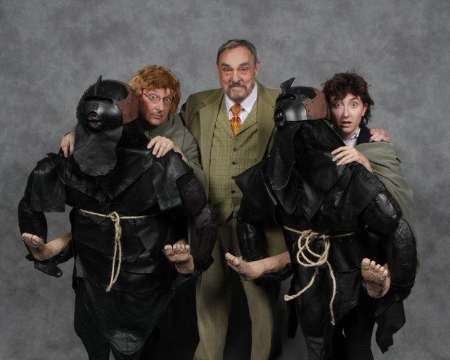 Ребята неожиданно встретили Джона Рис-Дэвиса (Гимли) на Comic Con в Торонто Средиземье, Властелин колец, Гимли, Хоббит, Орки, Comic-Con