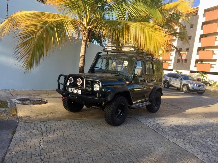УАЗ в Мексике-2 Уаз, Мексика, Канкун, Длиннопост, Пост 1 апреля 2019 г