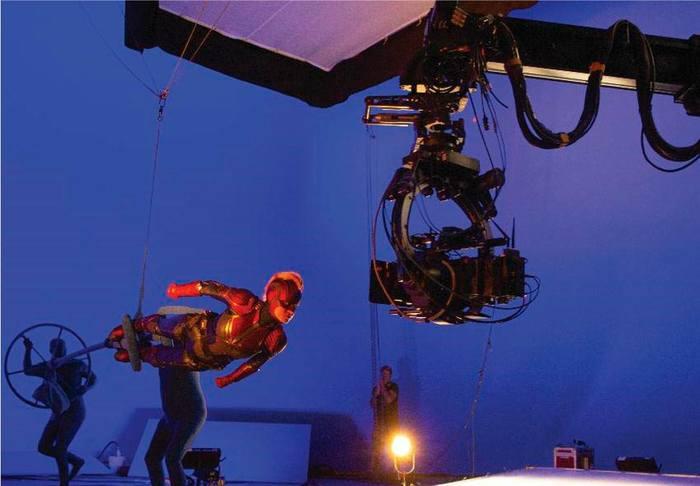 """Как снимали """"Капитана Marvel"""" Marvel, Комиксы, Съемки, Спецэффекты, Анимация, Видео, Длиннопост"""