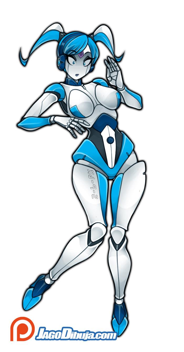 Jenny XJ-9 (My Life as a Teenage Robot)