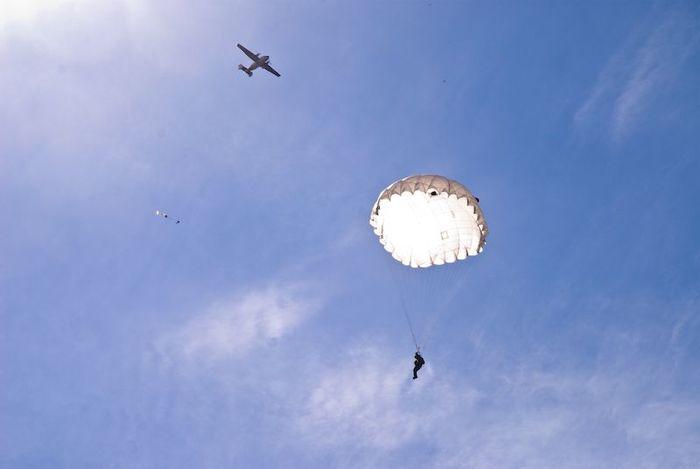 Как я прыгал с парашютом Парашют, Экстрим, Длиннопост, Прыжок с парашютом
