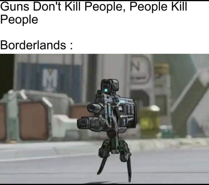 Не ружья убивают людей, а люди