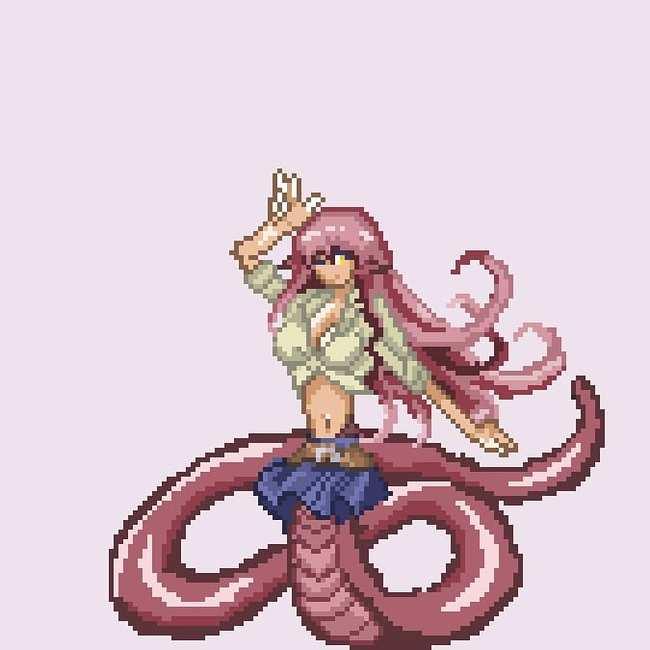 [Моё] Мои начинания в Pixel art Пиксель, Pixel Art, Gamedev, Anime Art, Длиннопост