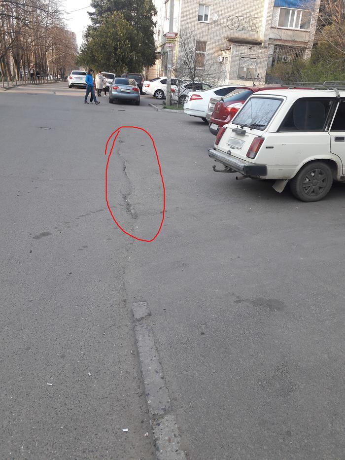 Пожалуй, тротуар будет здесь Тротуар, Парковка, Эвакуатор, ГИБДД, ПДД, Дыры в законе, Длиннопост, Краснодар