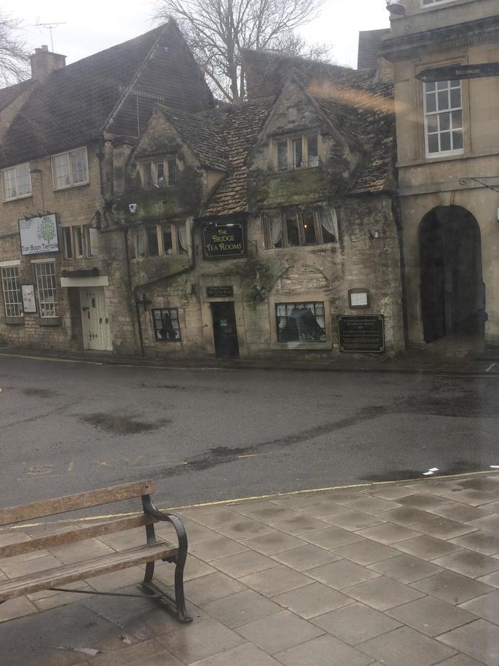 Этот чайный дом был построен ещё в 1502 году