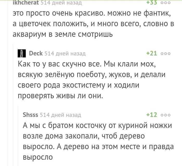 Секретики Bash im, История, Секрет, Длиннопост, Комментарии на Пикабу