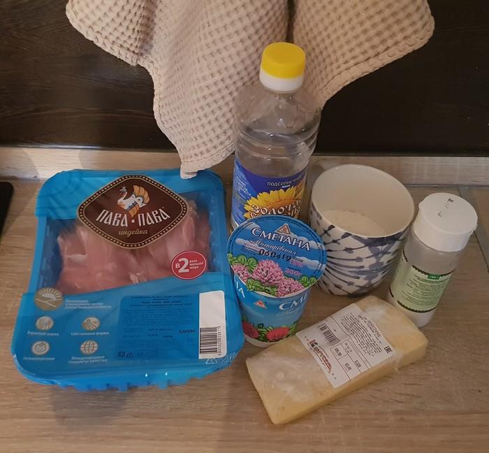 Мясо птицы в сырно-сливочном соусе Курица, Индейка, Рецепт, Вкусно, Готовим дома, Длиннопост