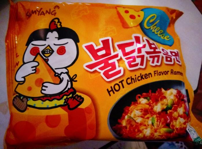 Доширакология. Samyang сырно-куриный Острое, Корейская кухня, Обзор еды, Острое блюдо, Длиннопост, Доширак