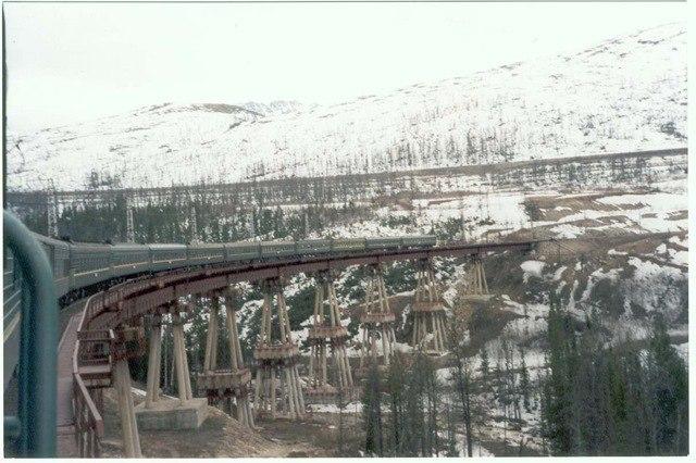 Чёртов мост Мост, Железная дорога, Поезд, Фотография, Вконтакте