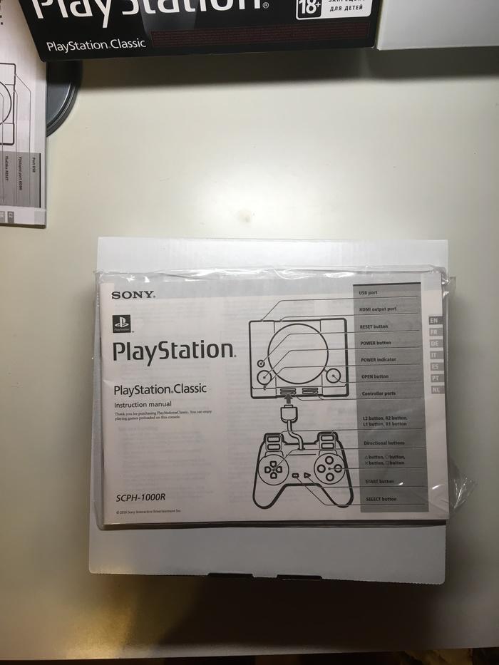 Малютка PS Classic Playstation 1, Playstation, Ностальгия, Игры, Консоли, Длиннопост