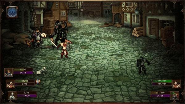 Вышел первый акт пиксель-арт RPG Sin Slayers: The First Sin. Доступен бесплатно в Steam Инди игра, Пиксель, Японские РПГ, Мини игра, Ролевые игры, Гифка