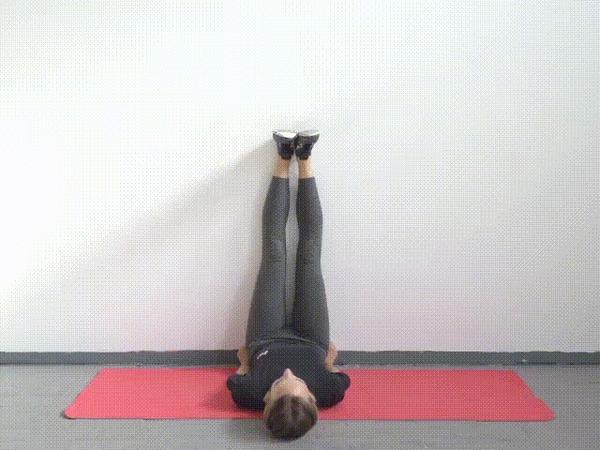 Как побороть синдром дерева: топ 5 упражнений для ног. Растяжка для новичков. Часть 6. Спорт, Растяжка, Гимнастика, Гифка, Лайфхак, Полезное, Интересное, Длиннопост