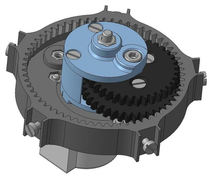 Планетарный редуктор на 3D принтере. Своими руками, Хобби, 3D принтер, 3D печать, 3D моделирование, Длиннопост, Компас 3D