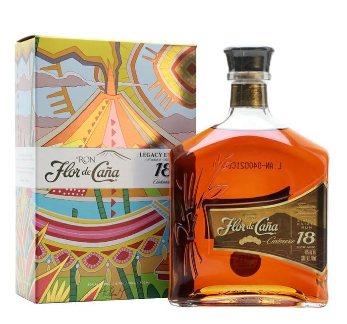 Flor de Cana 18 y.o. Ром, Алкоголь, Выбор напитка, Текст