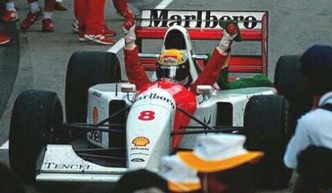 Легендарный Гран-при Европы 1993 года. Гонки, Ливень, Айртон Сенна, Чемпион, Формула 1, Видео