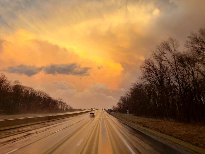 Riders on the storm Дальнобойщики, Дальнобой, США, Фотография, Шторм, Укрытие
