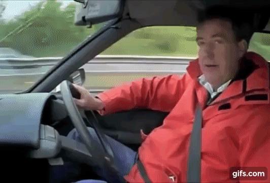 Приколы из Top Gear в гифках Авто, Гифка, Top Gear, Прикол, Юмор, Джереми Кларксон, Джеймс Мэй, Ричард Хаммонд, Телевидение, Длиннопост