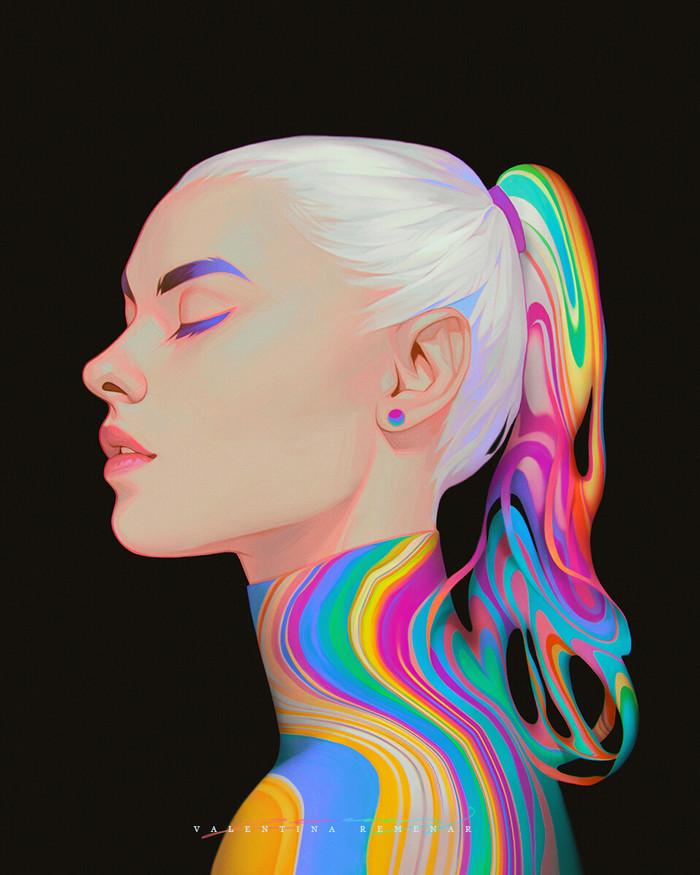 Спектрум Арт, Краски, Длиннопост