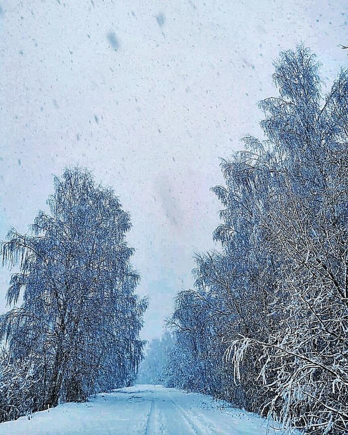 В Подмосковье весна) Снег, Метель, Пурга, Длиннопост
