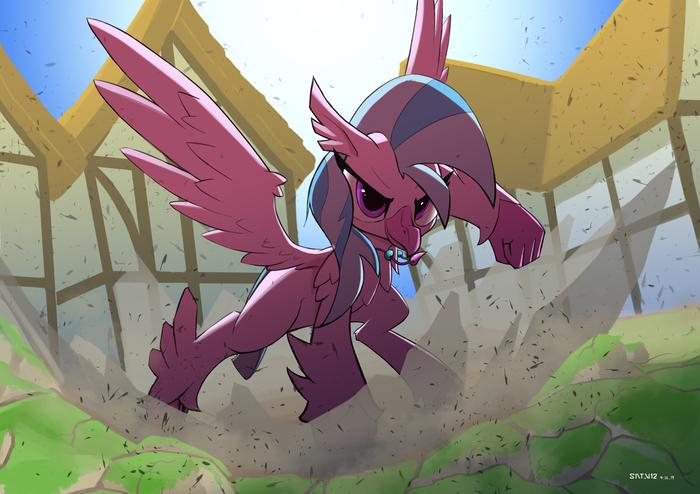 Супергеройское приземление! My Little Pony, Silverstream