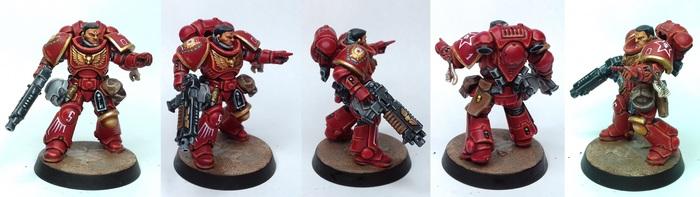 Лейтенант примарис Ордена Советов Warhammer 40k, Wh Miniatures, Primaris Space Marines