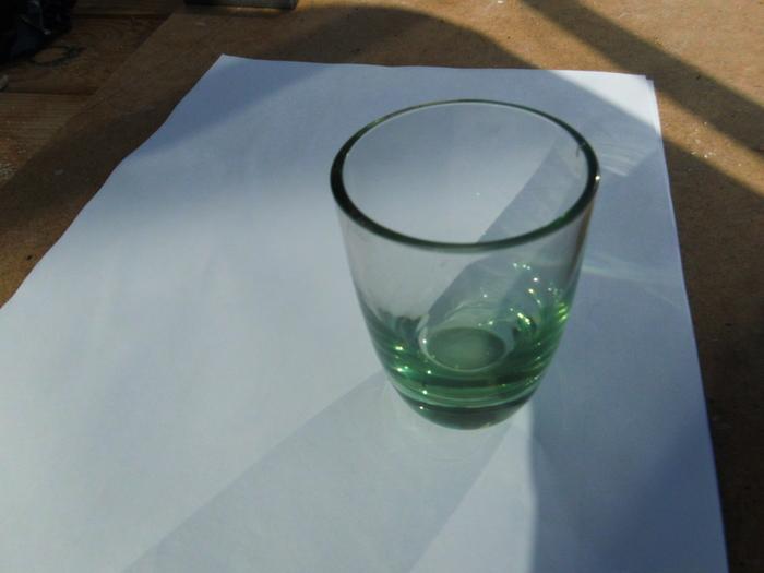 Урановое стекло Стеклодув, Водка, Хорошо