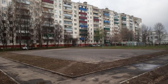 За 2 млн. в Курске сломали последнюю баскетбольную площадку на Северо-Западе Курск, Бюджетный вариант, Идиотизм, Стритбол, Баскетбол, Спорт, Видео, Длиннопост, Негатив