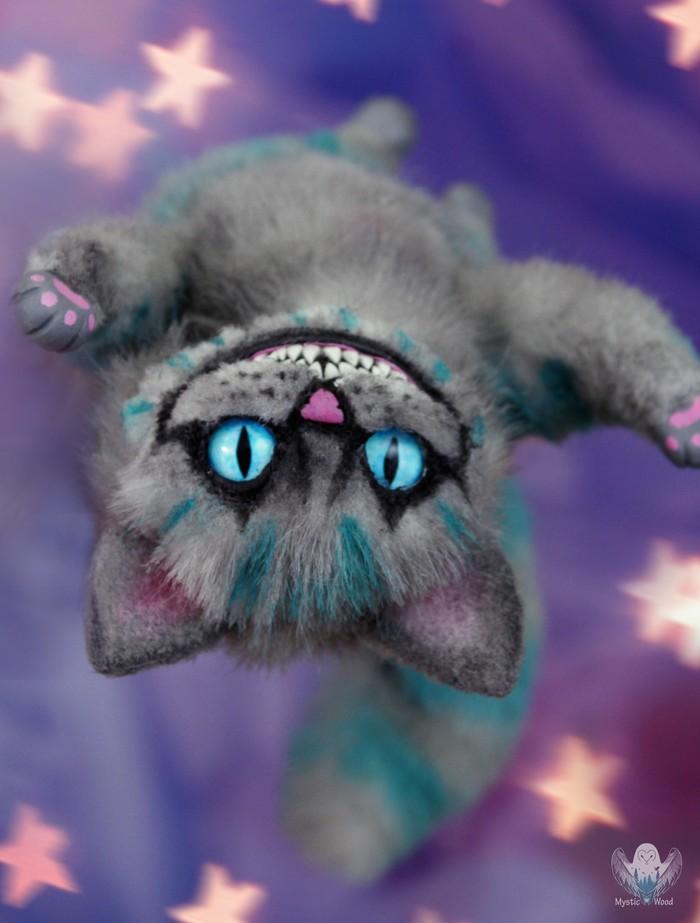Чеширский кот Кот, Чеширский кот, Рукоделие без процесса, Ручная работа, Полимерная глина, Длиннопост