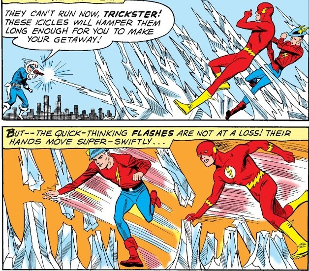 Погружаемся в комиксы: The Flash #125-134 Супергерои, The Flash, DC Comics, Комиксы-Канон, Длиннопост