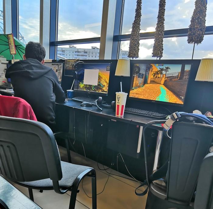 Игровой клуб, неожиданно CS:GO, Интернет клуб, Компьютерные игры