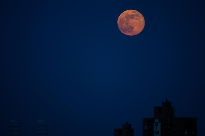 За окном сегодня эпичная луна, кто-нибудь заметил?