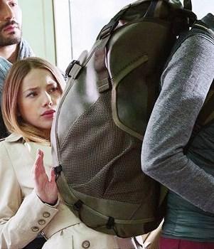 Рюкзак – Сидор - Вещмешок Вежливость, Общественный транспорт, Уважение