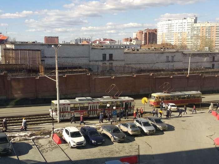 19/04/19 16:00 г. Екатеринбург Екатеринбург, Трамвай, Авария, ДТП