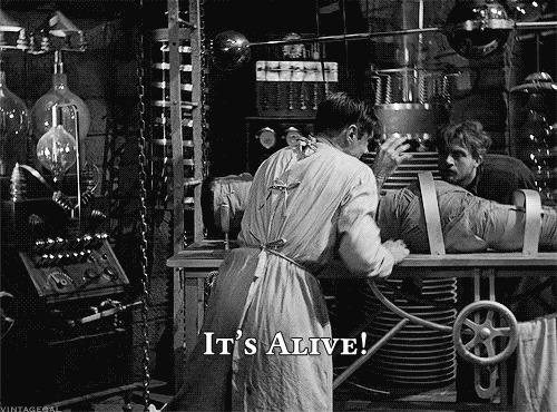 Короче про Франкенштейна Книги, Краткое описание, Франкенштейн, Классика, Мемы, Невероятно, Вот это поворот, Попытка, Гифка, Длиннопост