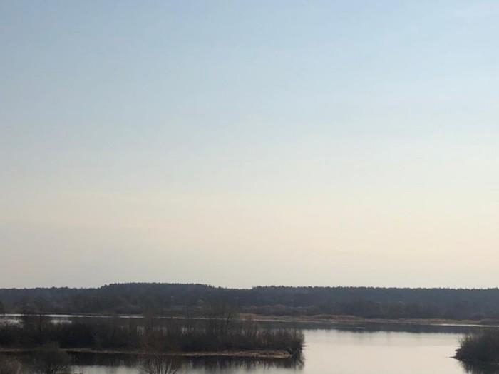 Волжские просторы Фотография, Река Волга, Природа, Рассвет