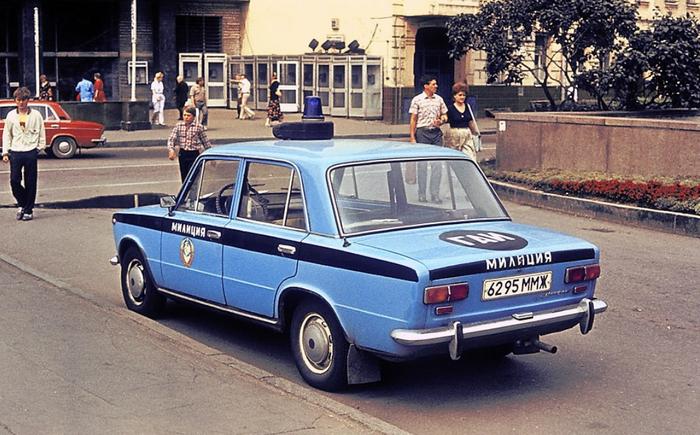 Почему машины милиции СССР красили в желтый? Статья, Полиция, Милиция, СССР, Авто, Длиннопост