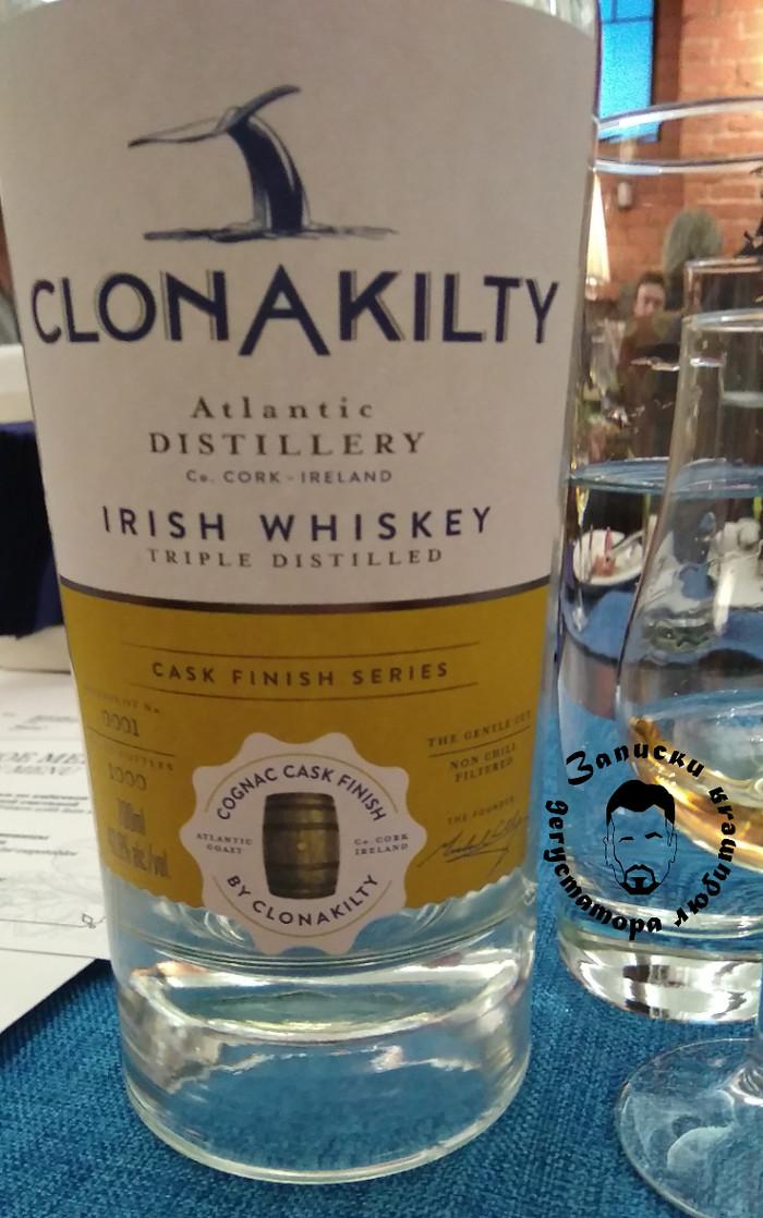 Clonakilty Cognac cask finish. Ирландский виски, Виски, Алкоголь, Текст, Длиннопост, Выбор напитка