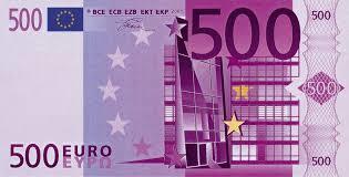 Бог послал Евро, Купюра, Богпослал