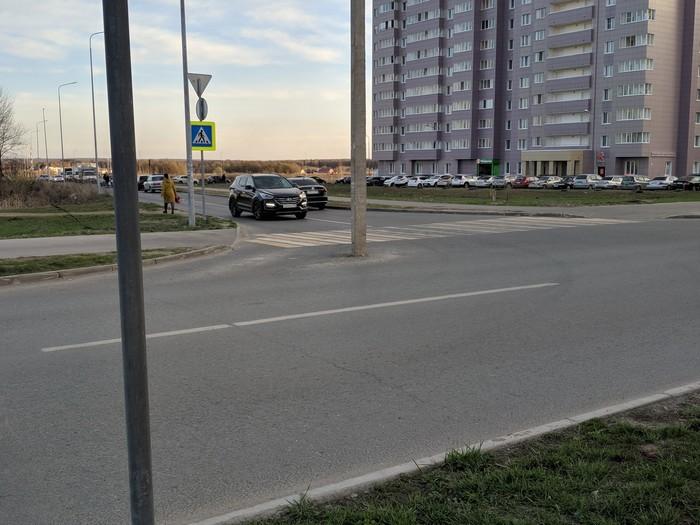 Новый район, а проблемы те же Дураки, Российские дороги, Строительство, Столб, Салават