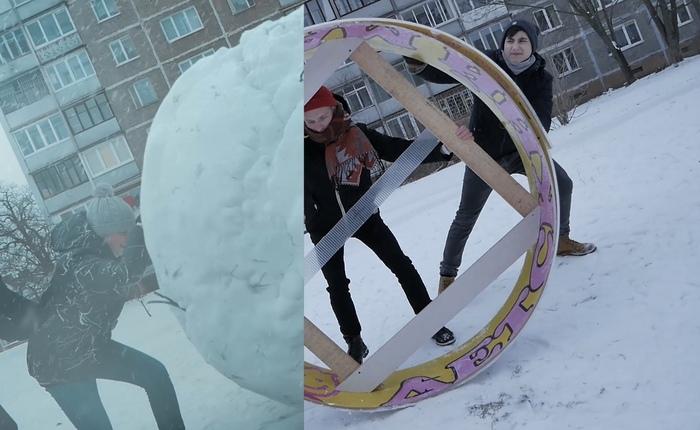 Снежный ком [Короткометражка] - создание эффектов Видео, Визуальные эффекты, 3D анимация, Компьютерная графика, Монтаж, Длиннопост