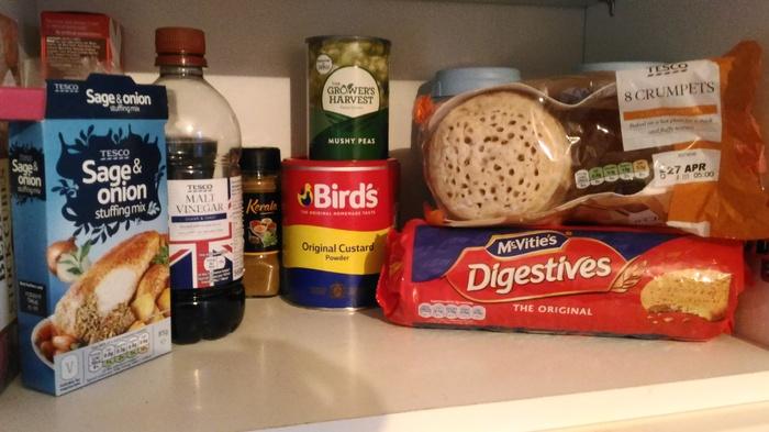 Что найдется в кухонном шкафу англичан Англия, Продукты, Английский язык