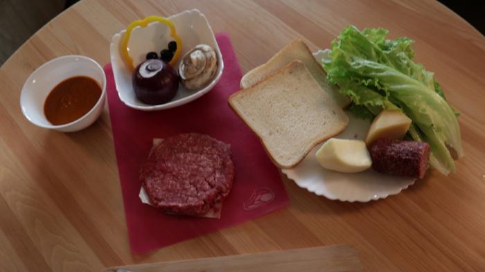 Здоровый бутер! Попробуй съесть и не испачкаться... Еда, Рецепт, Бутерброд, Бургер, Гамбургер, Сэндвич, Видео, Длиннопост, Кулинария