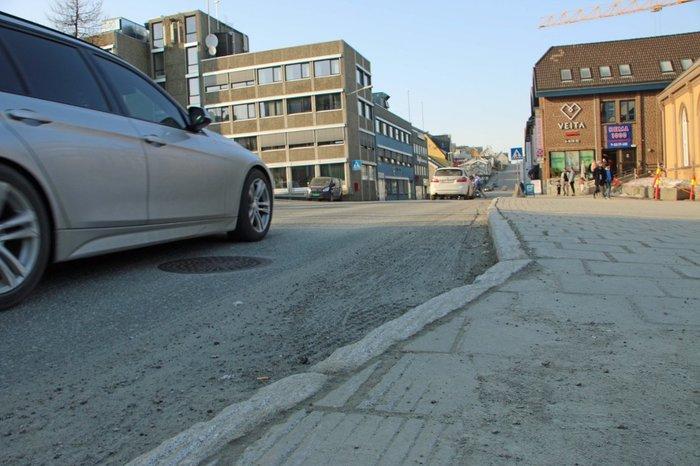 Уровень запылённости в нашем городе превысил все допустимые нормы. Город Тромсo, север Норвегии. Норвегия, Пыль, Грязь