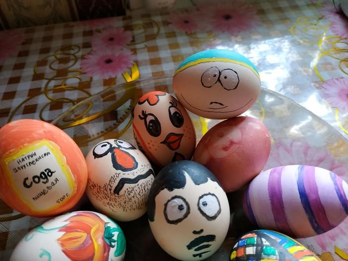 Покраска яиц Пасха, Яйца, South Park