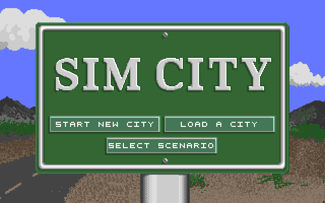 SimCity 1989, Прохождение, Simcity, Компьютерные игры, Ретро-Игры, Игры, Градостроительный симулятор, Длиннопост, Maxis