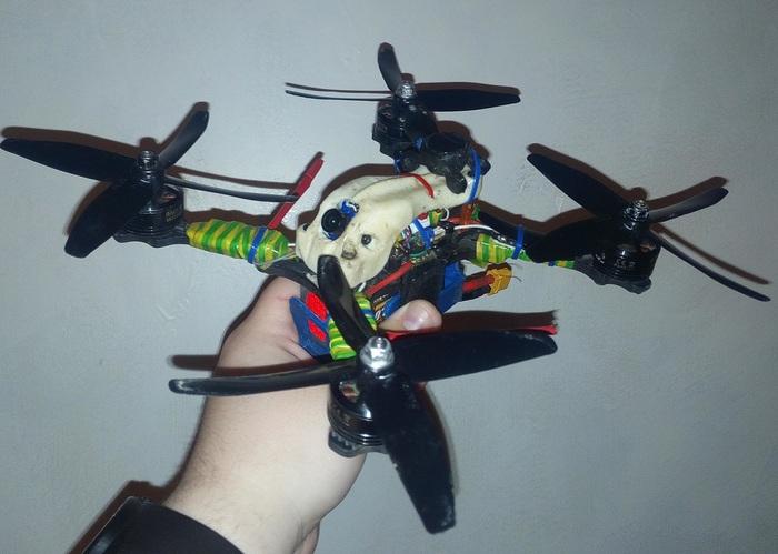Краткий гайд по квадрокоптерам для FPV Квадрокоптер, FPV, Радиоуправляемые модели, Дрон, Гифка, Длиннопост