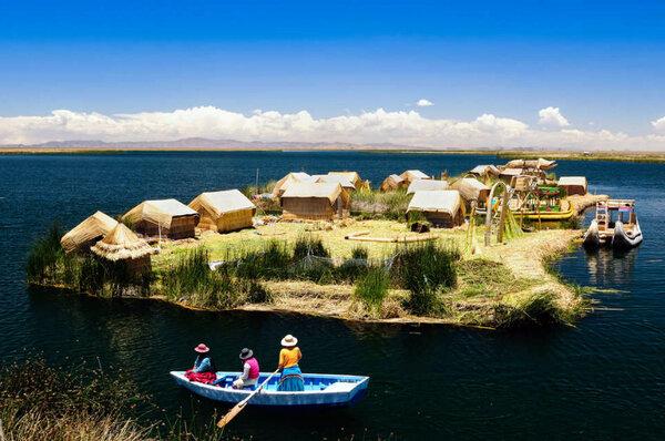 Урос: племя, проживающее на плавучих островах из тростника Урос, Племена, Народ, Традиции, Обряд, Ритуал, Титикака, Латинская Америка, Видео, Длиннопост
