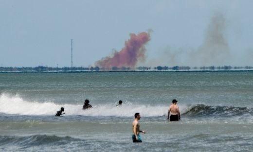 В SpaceX назвали возможную причину аварии в ходе испытаний Dragon-2 Dragon 2, Spacex, Superdraco, Илон Маск, Провал, Fail, Авария, Взрыв