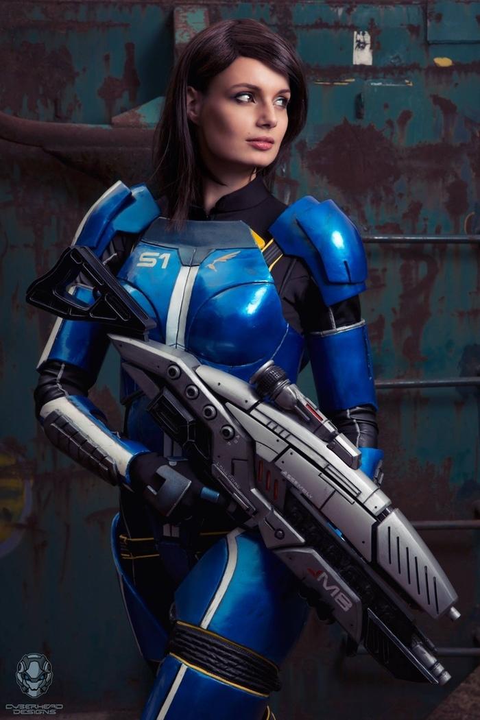 Mass Effect cosplay Mass Effect, Игры, Девушки, Косплей, Длиннопост, Фотография